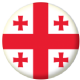 Georgia Country Flag 25mm Pin Button Badge